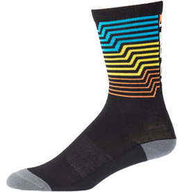 "45NRTH 45N Midweight Electric Rift Sock - 7"", Multi, Large"