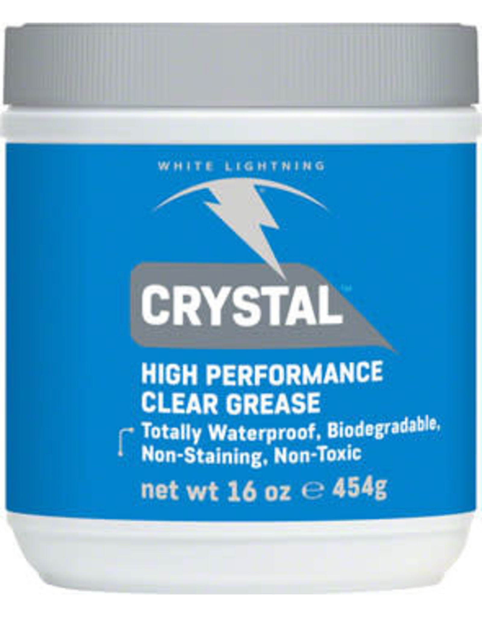 White Lightning White Lightning Crystal Grease 16oz Tub