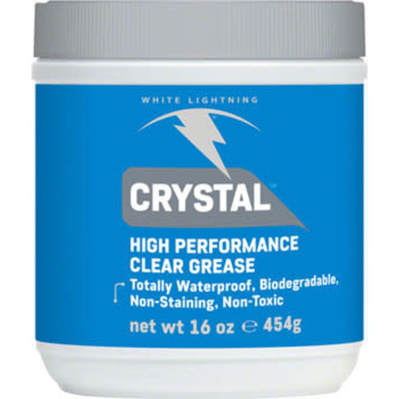 White Lightning White Lightning Crystal Grease 16oz Tub