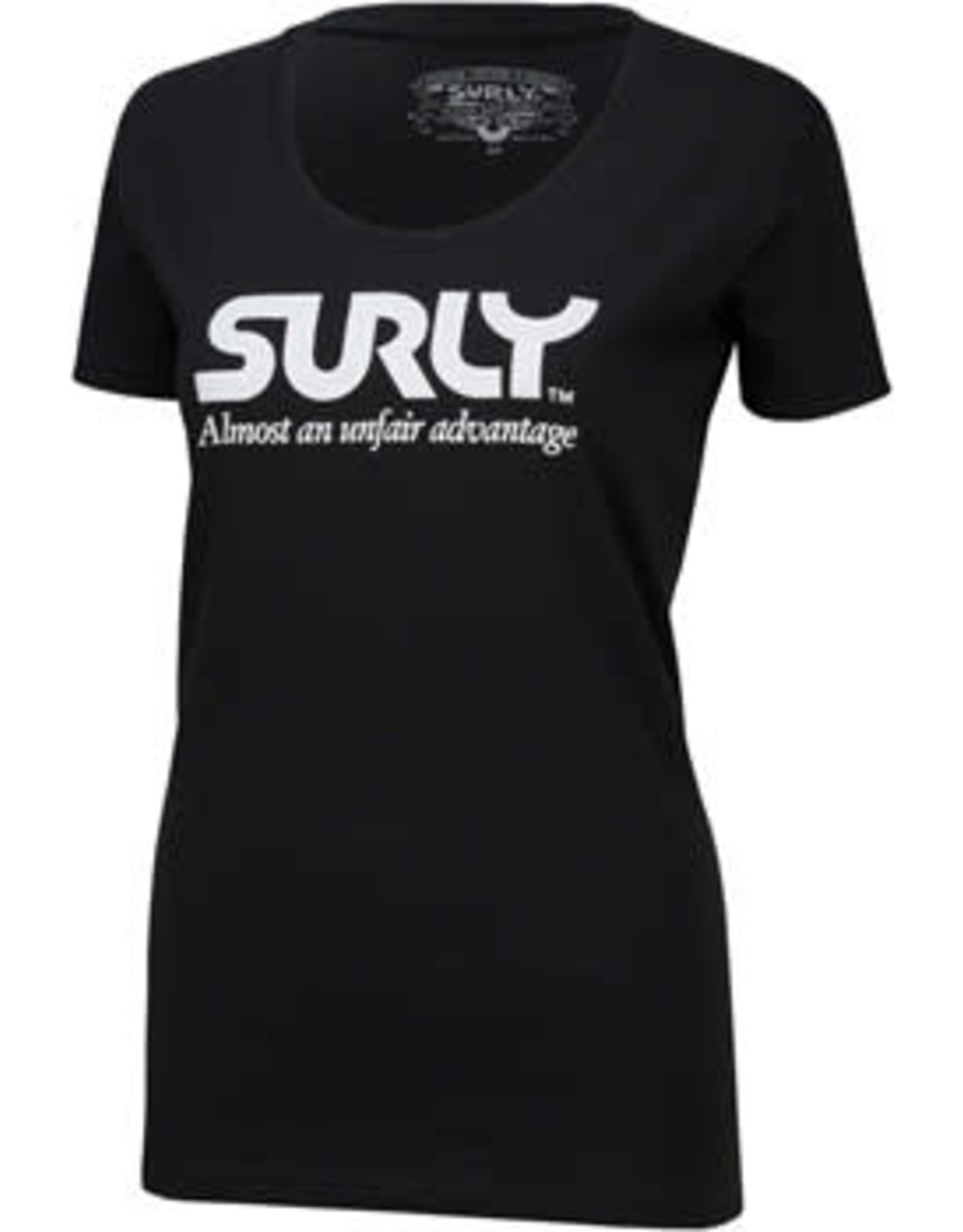 Surly Surly Unfair Advantage Women's T-Shirt: Black MD