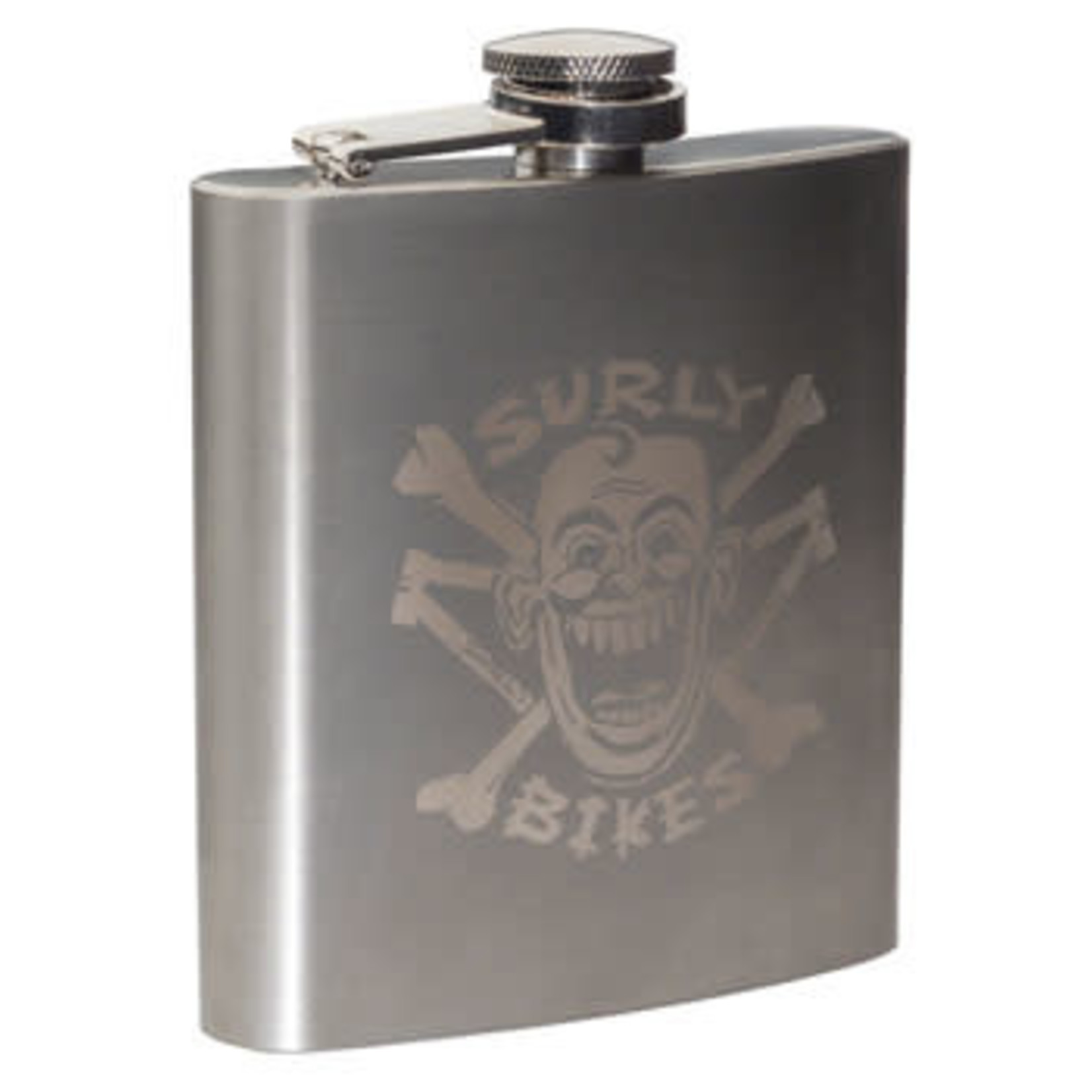 Surly Surly Hip Flask 6oz Stainless