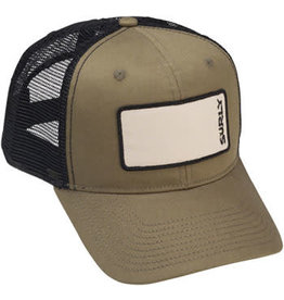 Surly Surly Name Patch Trucker Hat: Olive Green, One Size