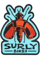 Surly Surly Wingnut Patch - Black, Blue, Red, One Size