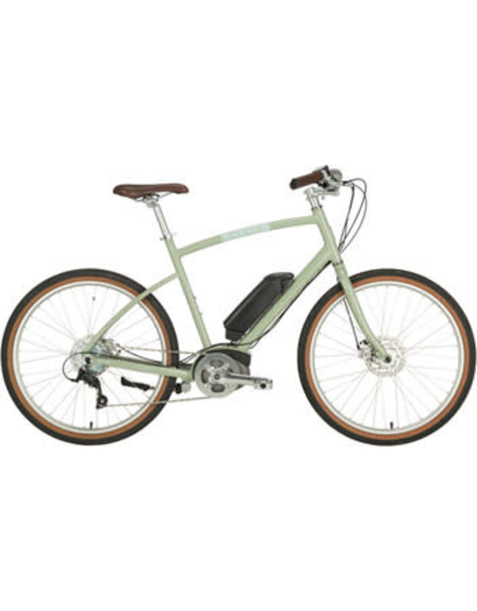 """Civia Civia Parkway Step-Over Ebike - 26"""" Clay Gray MD"""