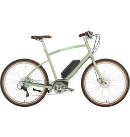 "Civia Civia Parkway Step-Over Ebike - 26"" Clay Gray MD"
