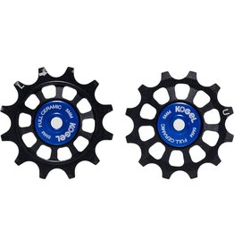 Kogel 14/14T Pulley Set for Sram/Shimano 12 - Black