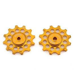 Kogel 12/14T Pulley Set Gold Shimano 9100