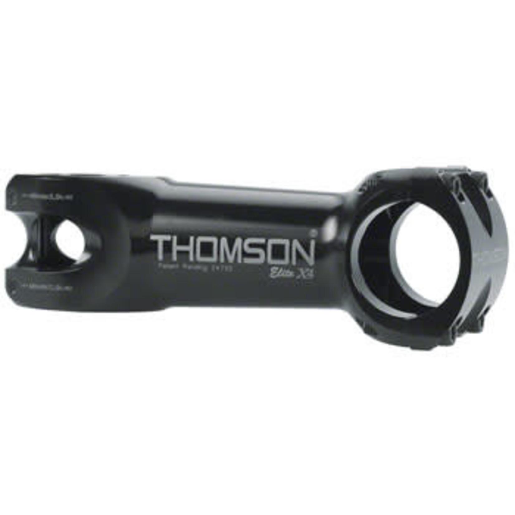 """Thomson Thomson Elite X4 Mountain Stem 100mm +/- 0 degree 31.8 1-1/8"""" Threadless Black"""
