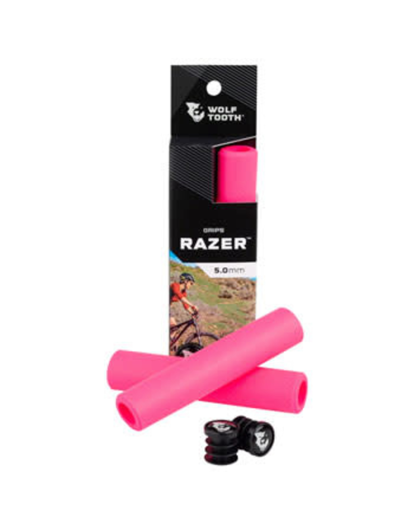 Wolf Tooth Wolf Tooth Razer Grips - Pink