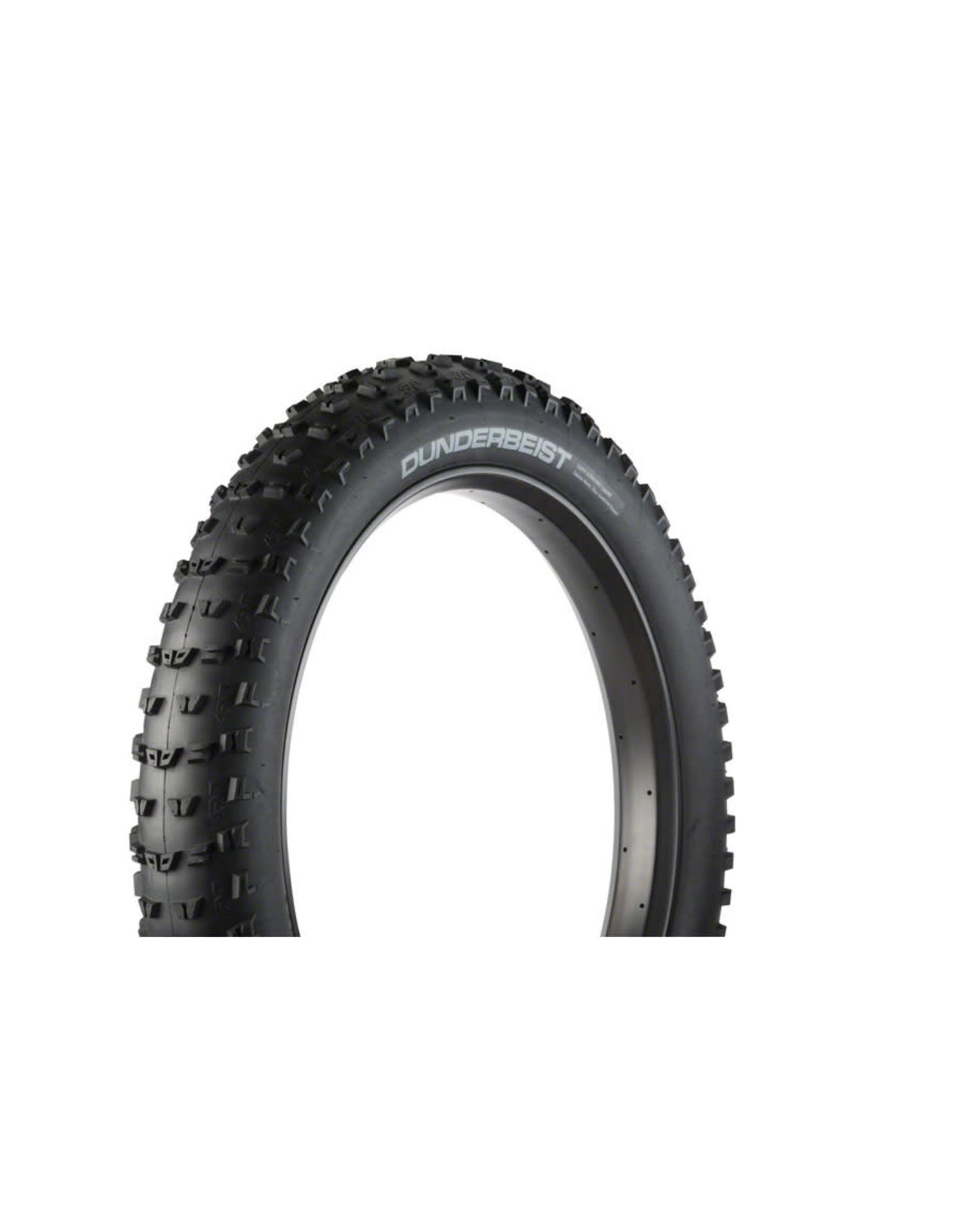 "45NRTH 45NRTH Dunderbeist 26x4.6"" Fatbike Tire 120tpi Tubeless Folding"
