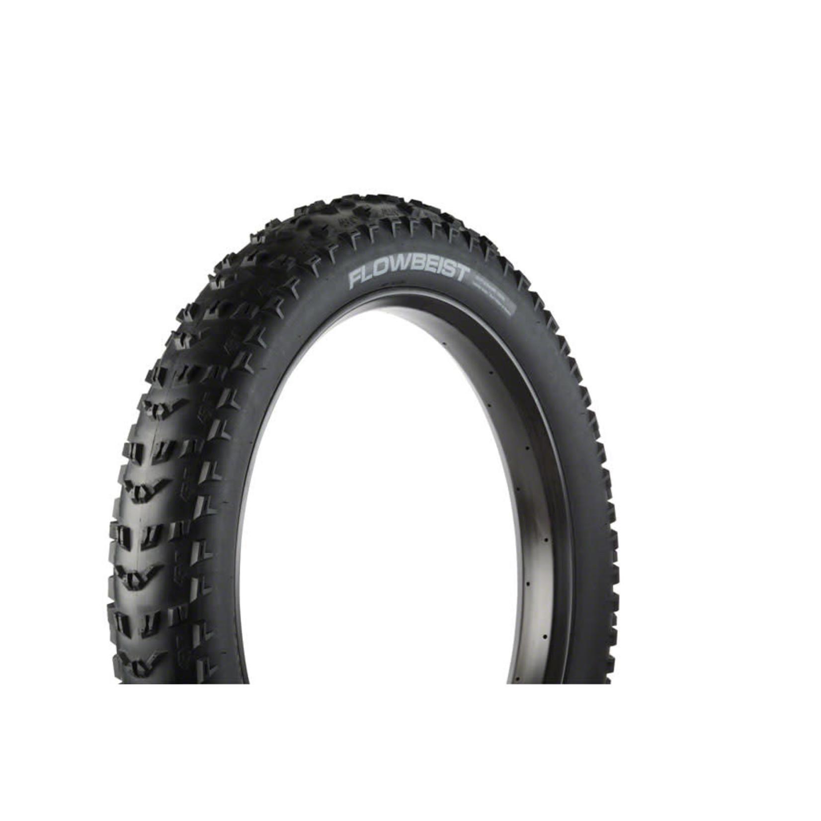 "45NRTH 45NRTH Flowbeist 26x4.6"" Fatbike Tire 120tpi Tubeless Folding"