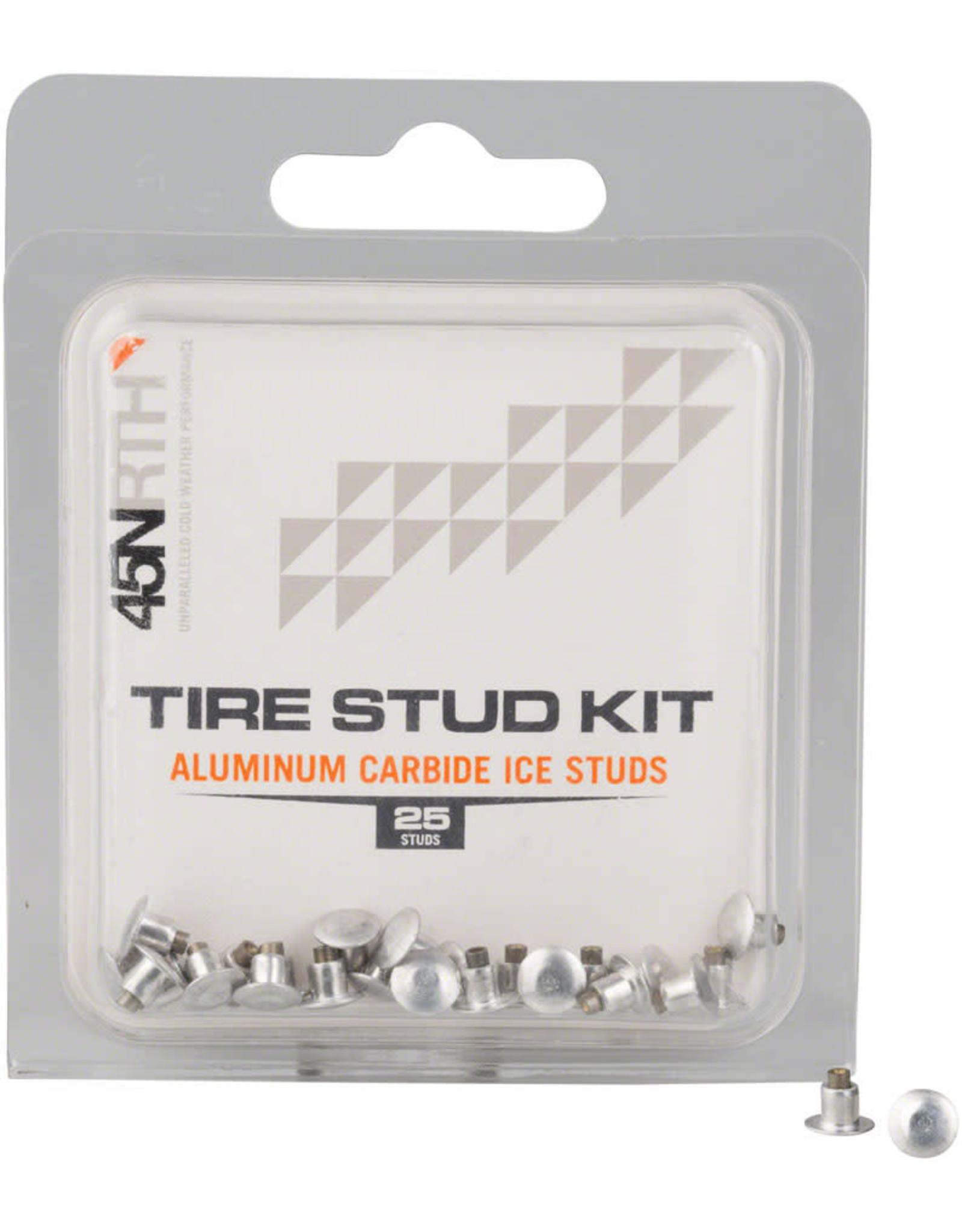 45NRTH 45NRTH XL Concave Studs: Aluminum Carbide, Pack of 25