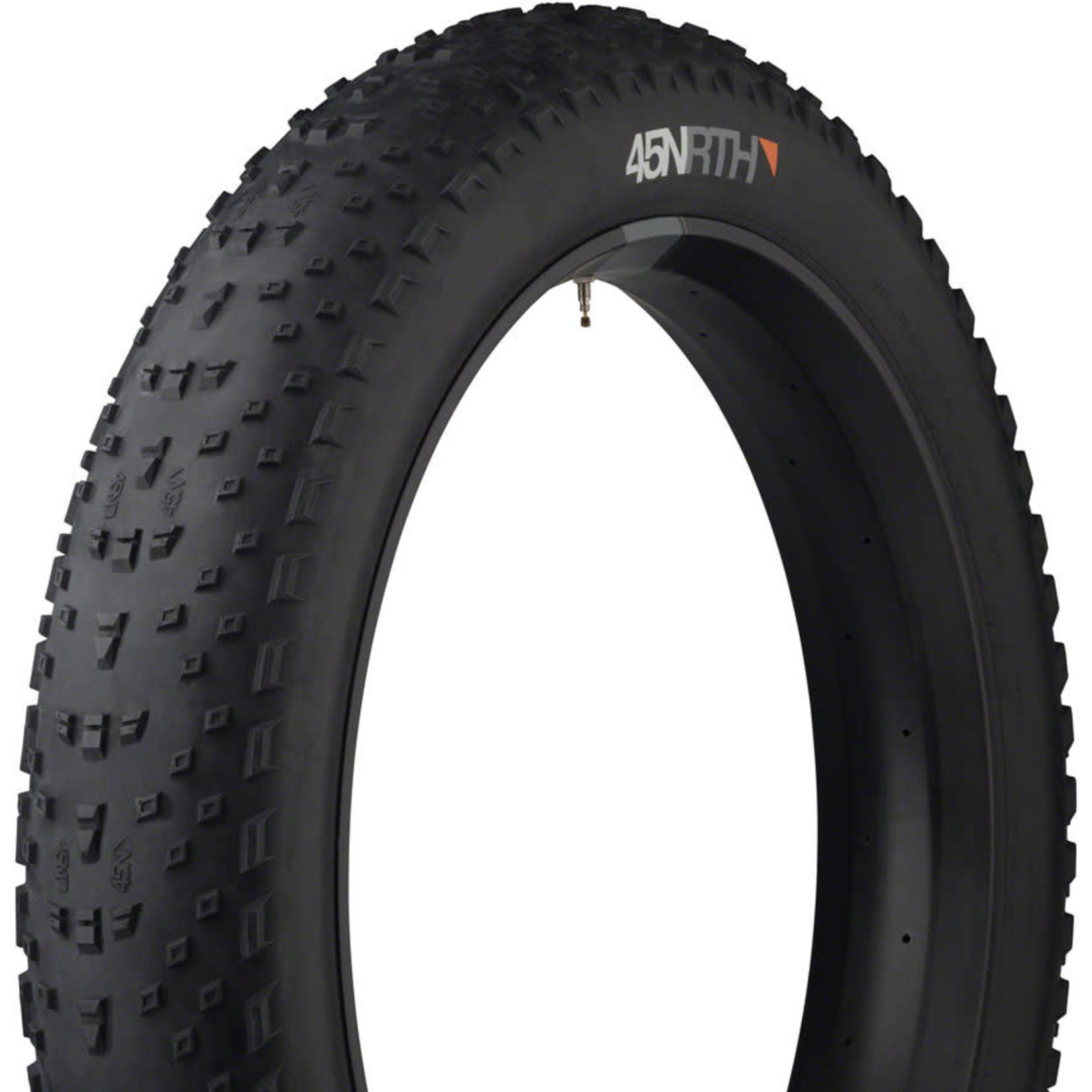 "45NRTH 45NRTH Husker Du Fatbike Tire: 26 x 4.8"" 60tpi Tubeless Ready Folding"