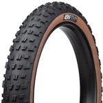 45NRTH 45NRTH Vanhelga Tire - 27.5 x 4, Tubeless, Folding, Black/Tan, 60tpi