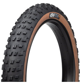 45NRTH 45NRTH Vanhelga Tire - 27.5 x 4, Tubeless, Folding, Black/Tan, 60tpi