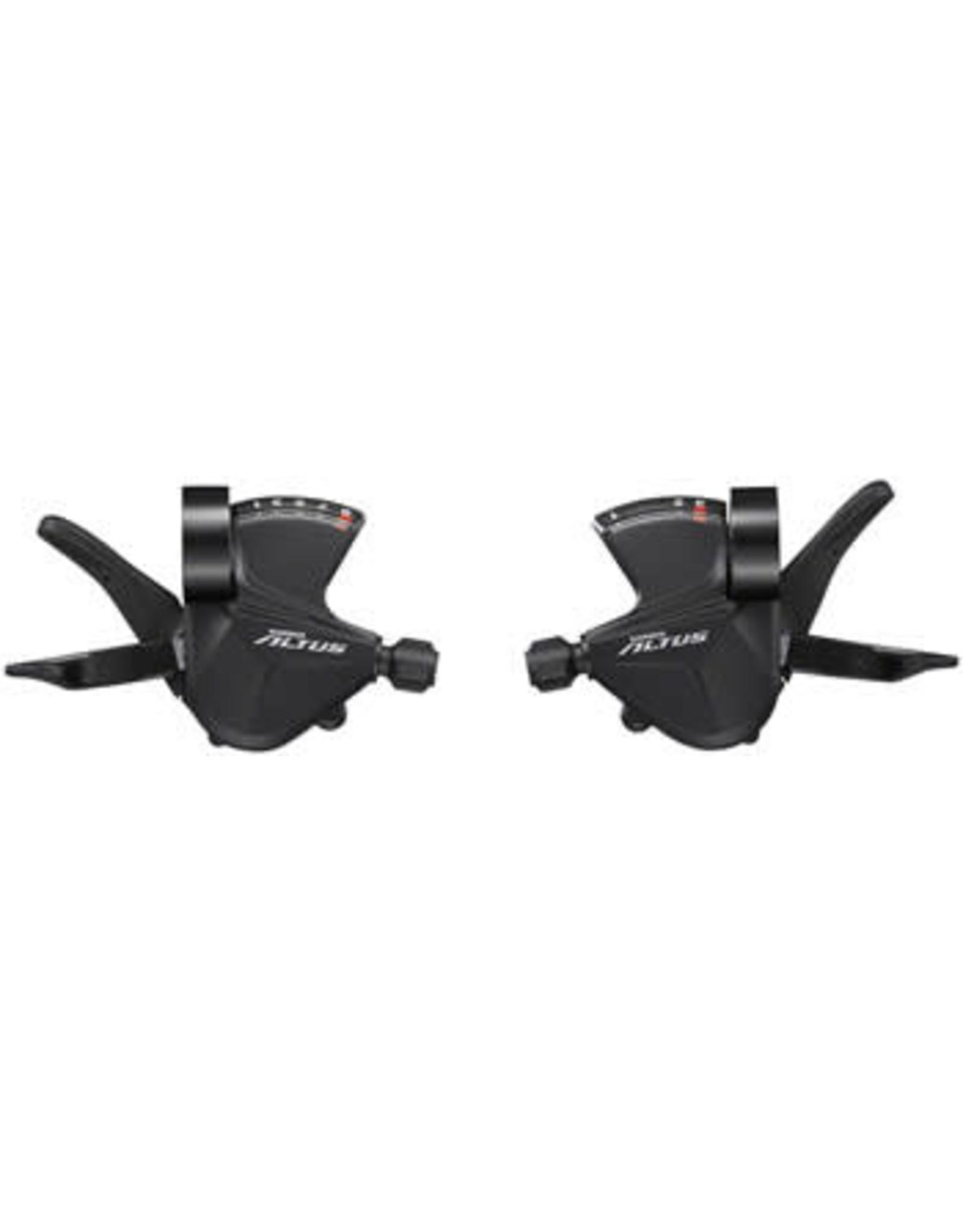 Shimano Shimano Altus SL-M2010 3x9-Speed Shift Lever Set, Black