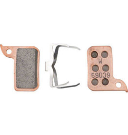 SRAM SRAM Disc Brake Pad Set Sintered with Steel Back fits Hydraulic Road Disc, Level Ultimate and Level TLM