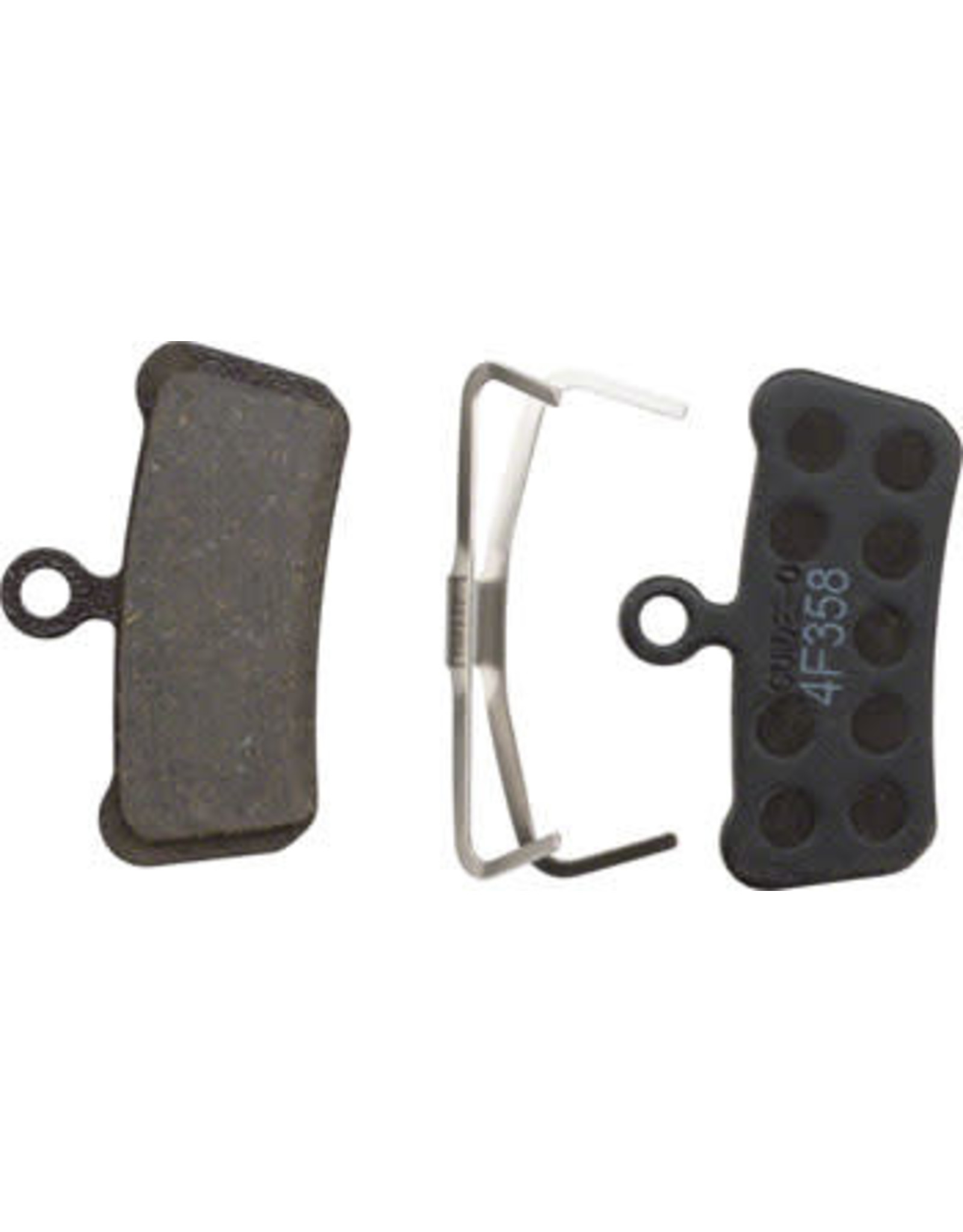 SRAM SRAM Guide and Avid Trail Disc Brake Pads Steel Backed Organic Compound