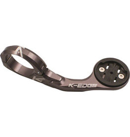 K-Edge K-EDGE Pro Garmin XL Handlebar Mount: 31.8mm, Gun Metal
