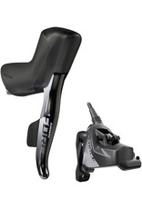 SRAM SRAM Force eTap AXS HRD Shift/Brake Lever and Hydro - Right/Rear, Flat Mount 20mm Offset, 1800mm Hose, Black, D1