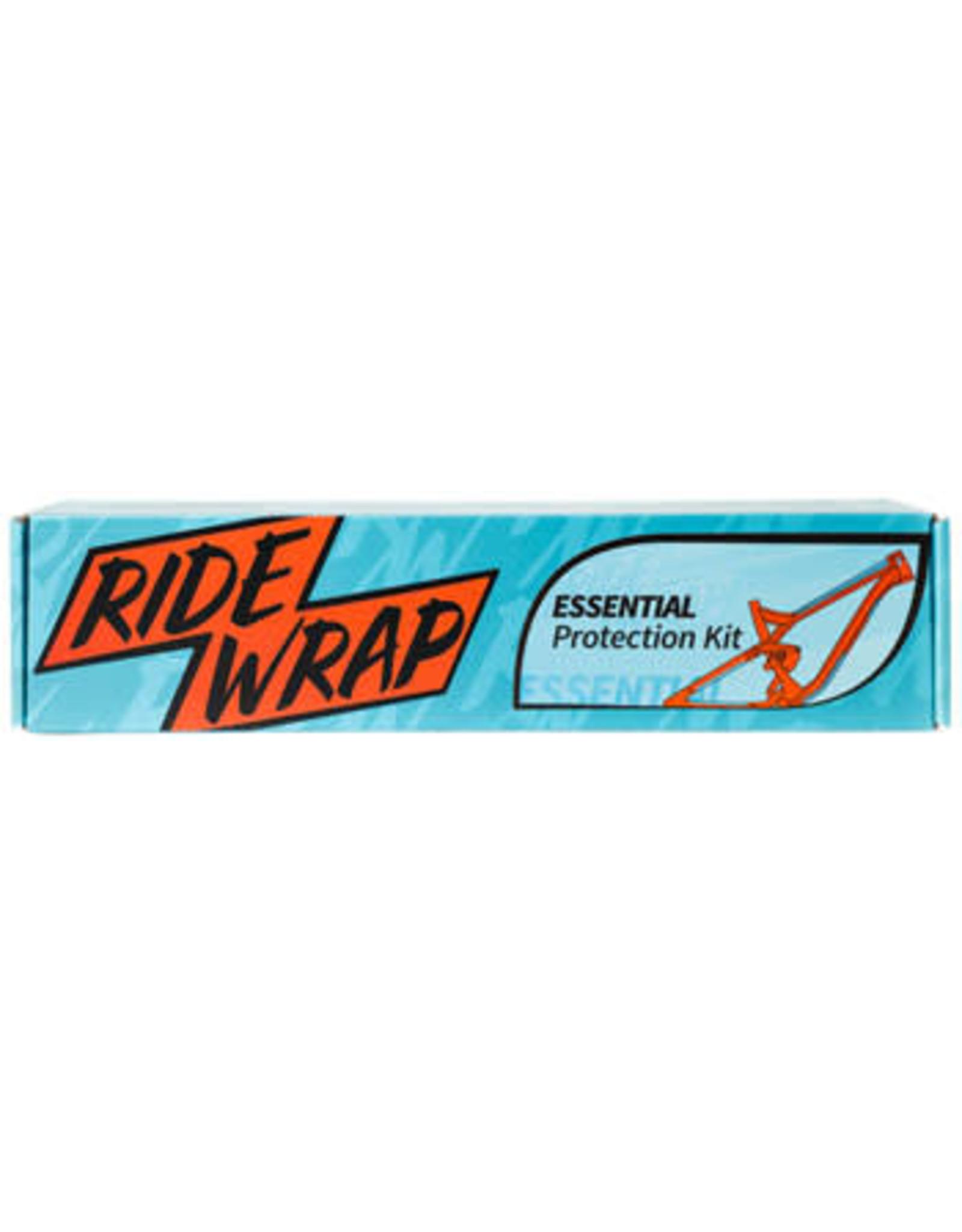 RideWrap RideWrap Covered Steel MTB Frame Protection Kit - Matte