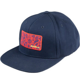 Salsa Salsa Gravel Icons Trucker Hat - Blue, Red, Yellow, One Size
