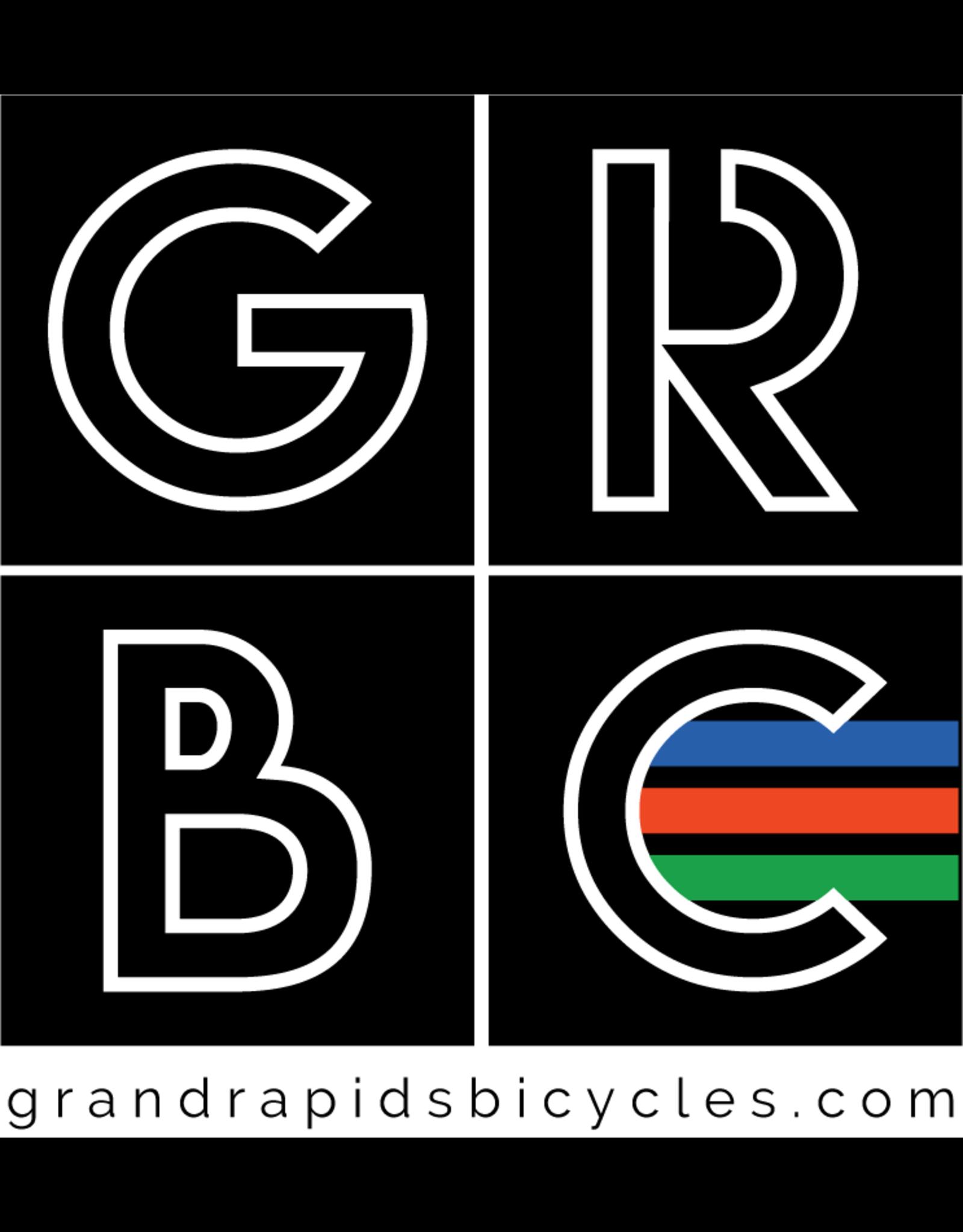 GRBC GRBC Block Vinyl Cut Sticker
