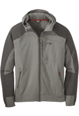 Outdoor Research Outdoor Research Men's Ferrosi Hooded Jacket Sewter/Storm MD