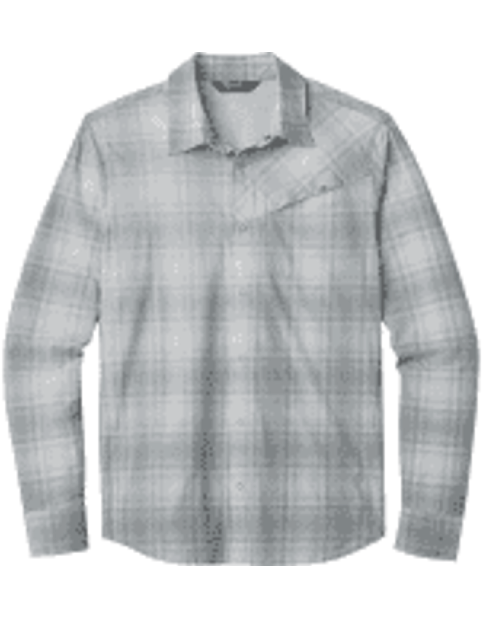 Outdoor Research Outdoor Research Men's Astroman L/S Sun Shirt Lead Plaid LG