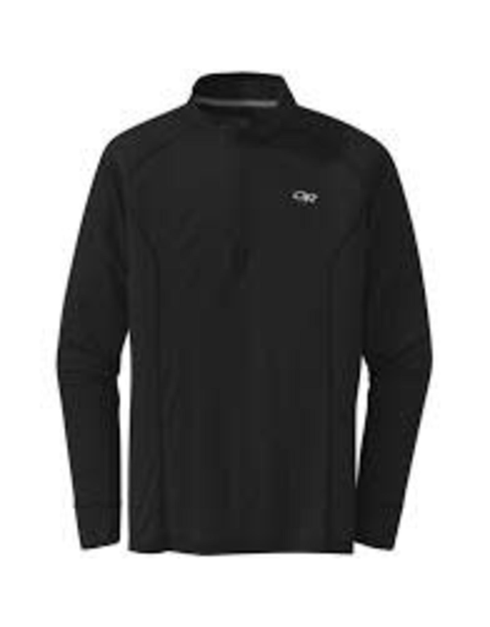 Outdoor Research Outdoor Research Men's Echo Quarter Zip Black XL