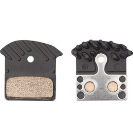 Shimano Shimano J04C Metal Disc Brake Pad and Spring with Fin for XTR M9020 M985, XT M8000, SLX M675, Road R517, Deore M615