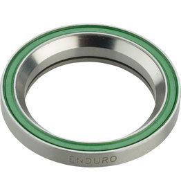 "Enduro Enduro 1 1/8"" 45 x 45 Degree Stainless Steel Angular Contact Bearing 30.5mm ID x 41.8mm OD x 8mm"
