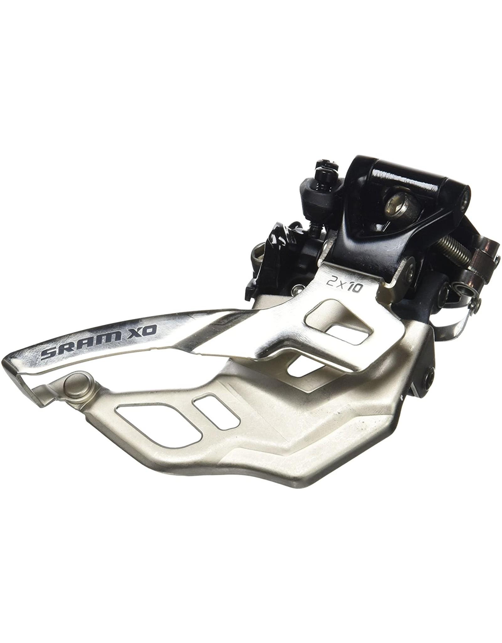 SRAM SRAM X.9 2x10 Dual Pull HiClamp 31.8mm Front Derailleur