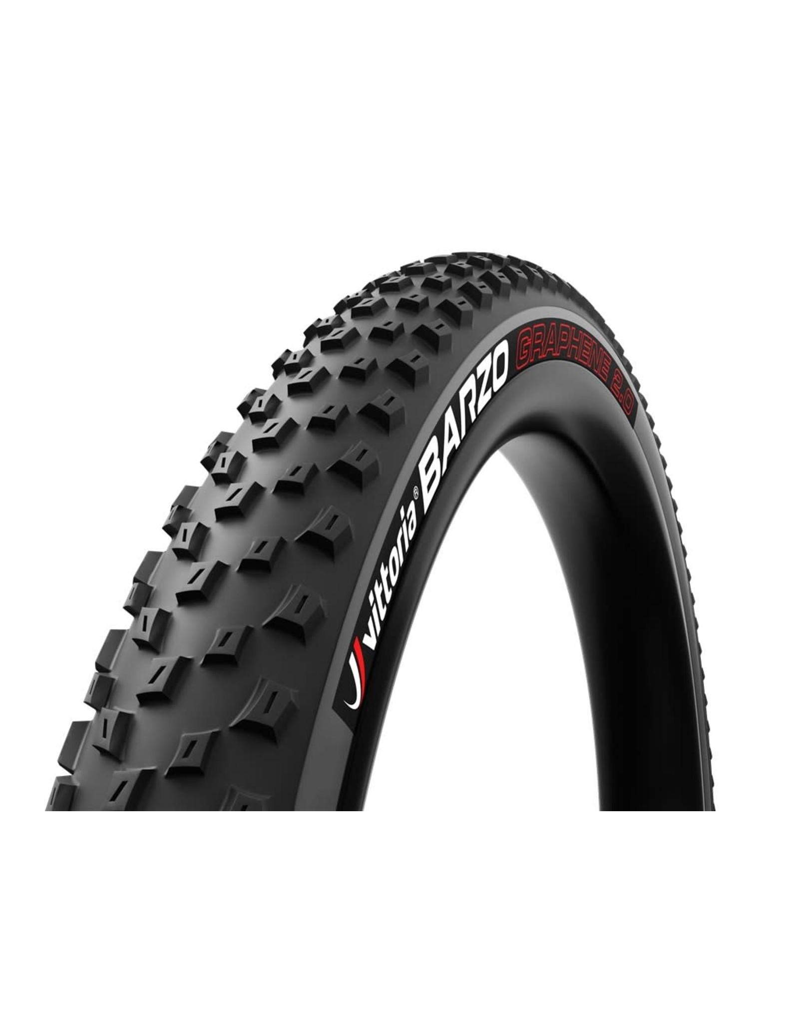 Vittoria Vittoria Barzo G2.0 Tire - 29 x 2.25, Tubeless, Folding, Black/Anthracite, 120tpi