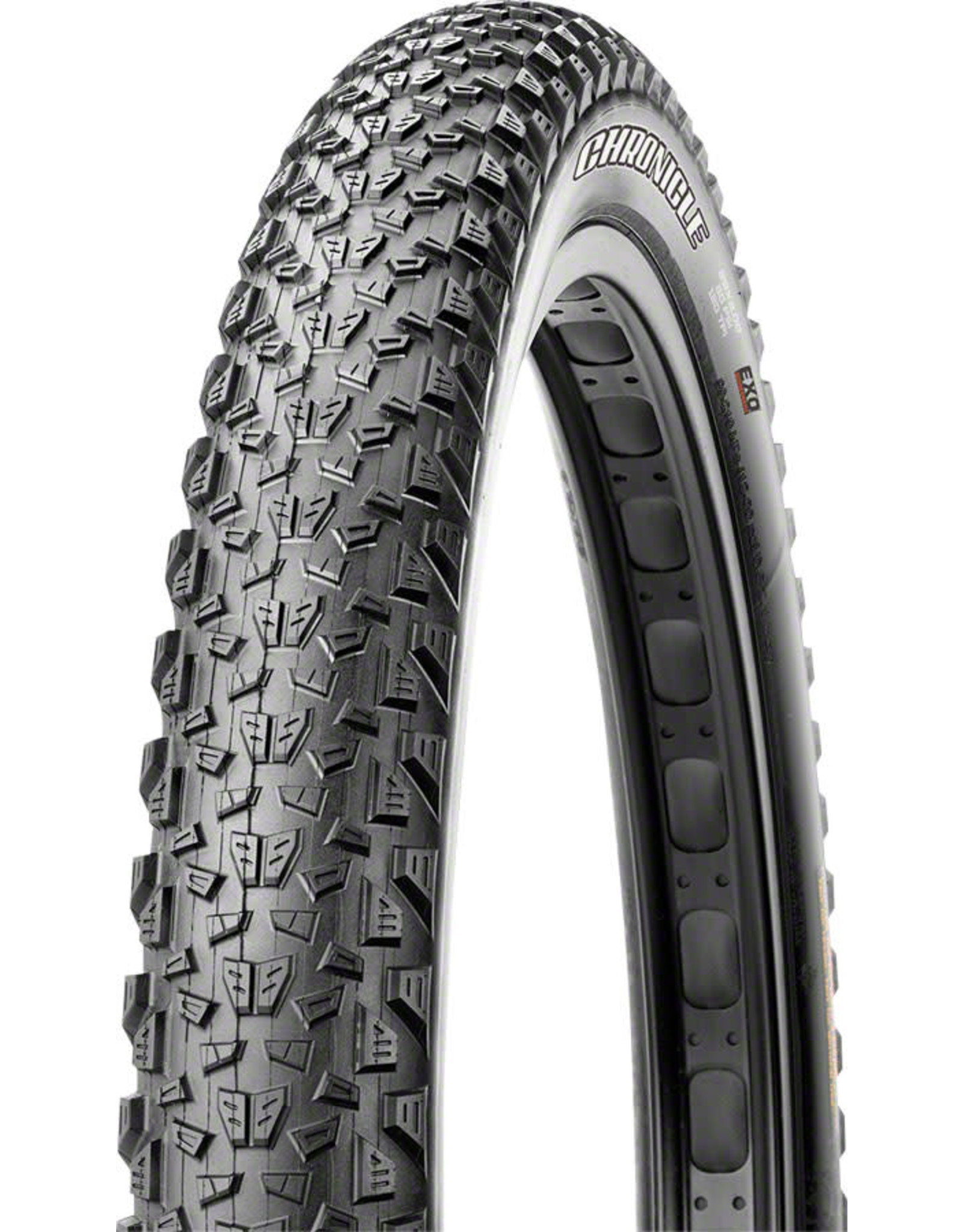 Maxxis Maxxis Chronicle 27.5+ Tire 27.5 x 3.0, 120 tpi, Dual Compound, EXO puncture protection, Tubeless-ready: Black