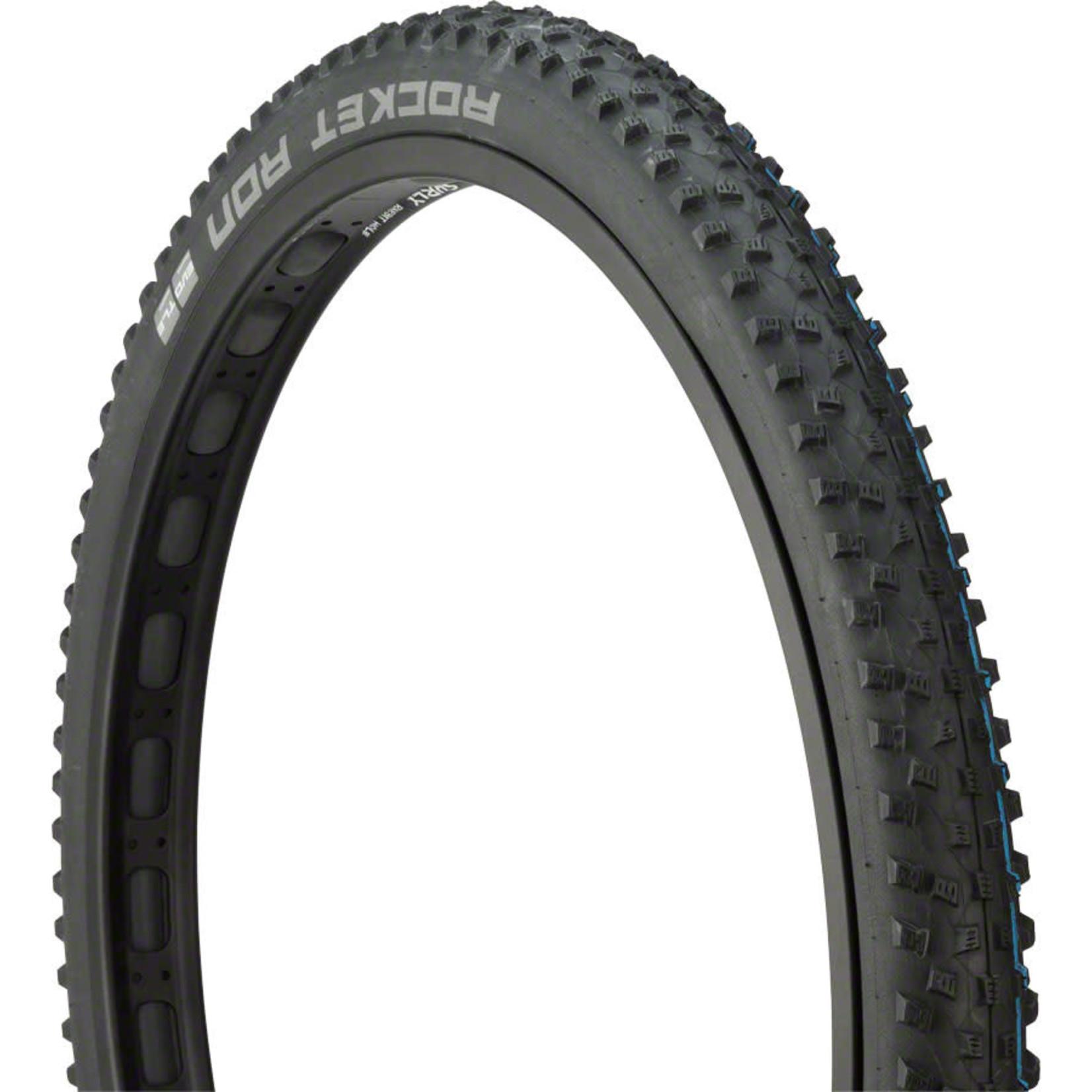 Schwalbe Schwalbe Rocket Ron Tire - 29 x 2.25, Tubeless, Folding, Black, Evolution, Super Ground, Addix SpeedGrip