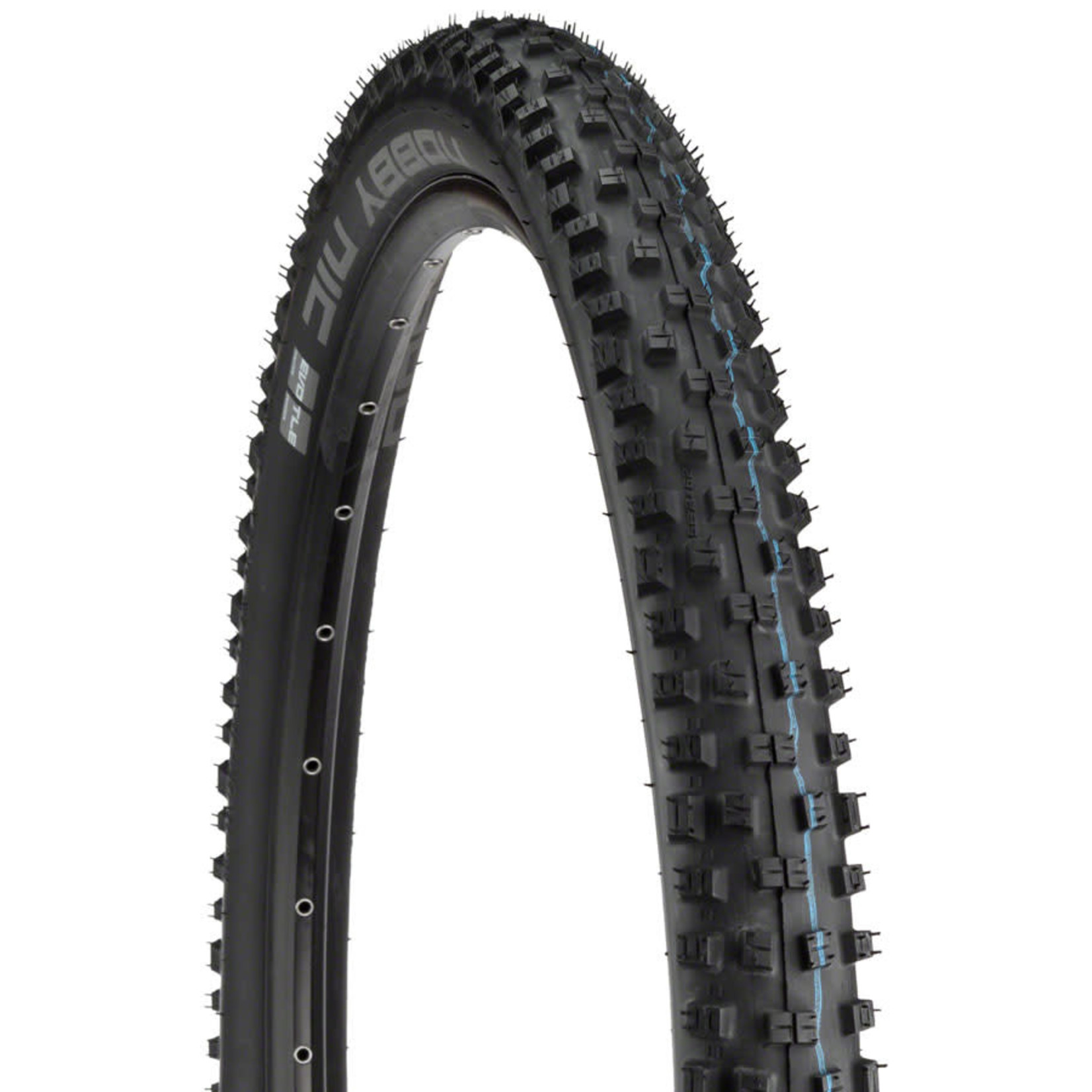 Schwalbe Schwalbe Nobby Nic Tubeless Easy SnakeSkin Tire, 29 x 2.35 EVO Folding Bead Black with Addix SpeedGrip Compound