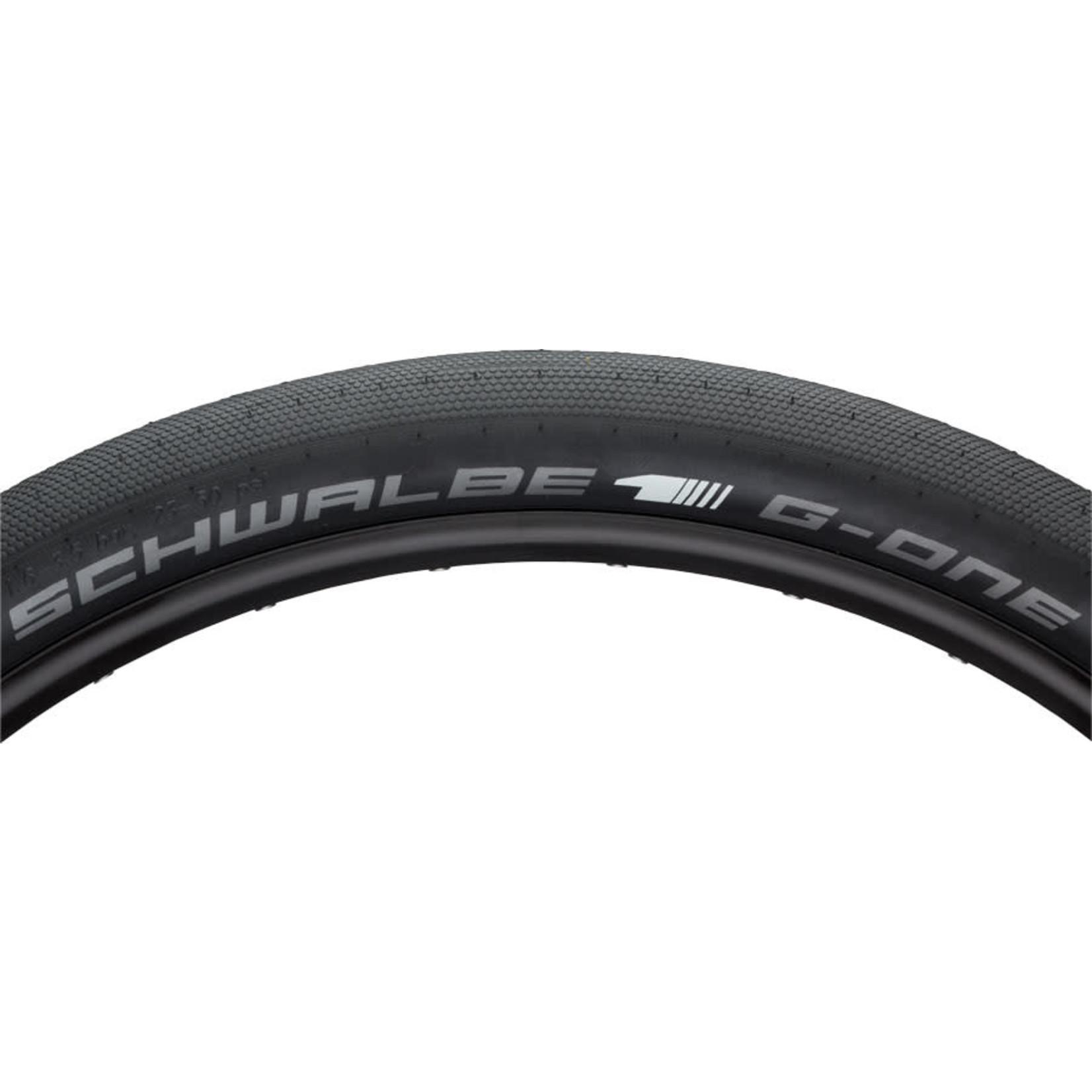 Schwalbe Schwalbe G-One Speed Tire - 29 x 2.35, Tubeless, Folding, Black, Evolution Line, SnakeSkin