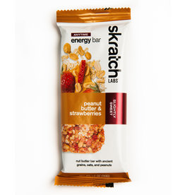 Skratch Labs Skratch Labs, Anytime Energy, Bars, Peanut Butter/Strawberries,single