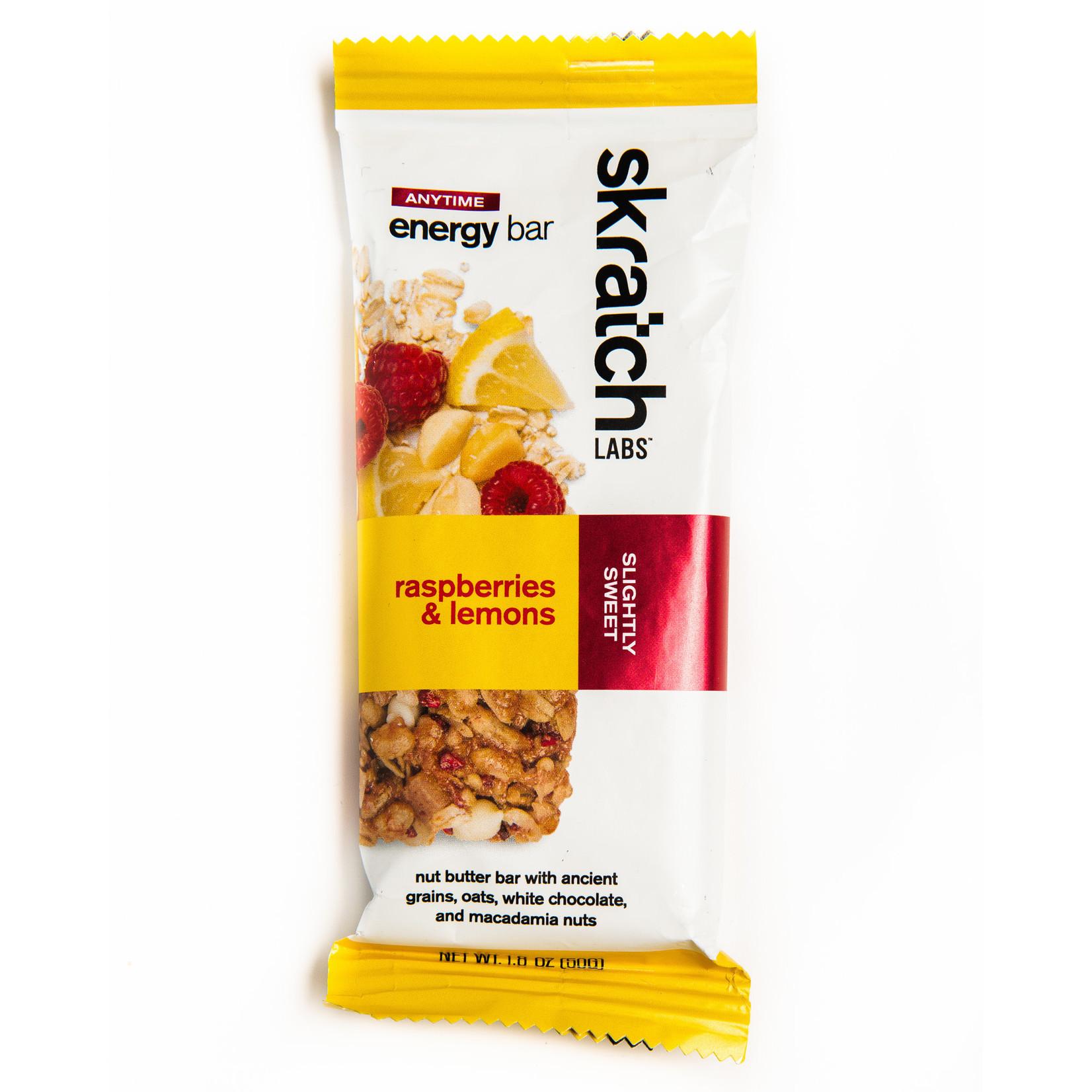 Skratch Labs Skratch Labs, Anytime Energy, Bars, Rasberry/Lemon single