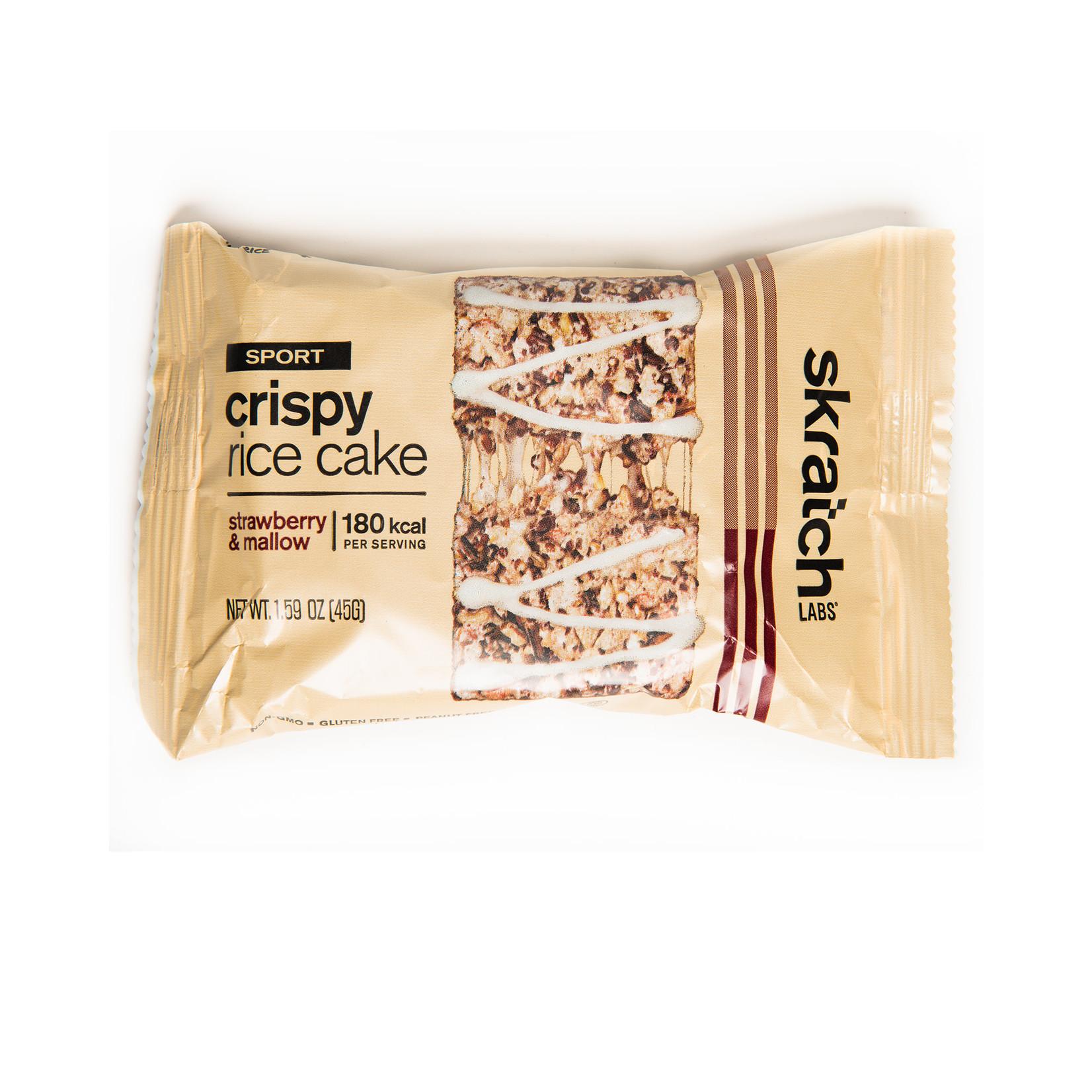 Skratch Labs Skratch Labs Sport Crispy Rice Cakes Straw Mallow Single
