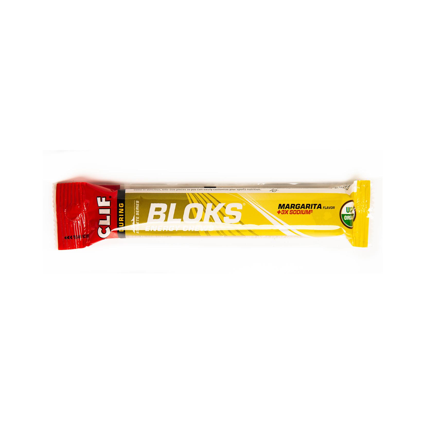 Clif Bar Clif Shot Bloks: Margarita with 3x Sodium; single