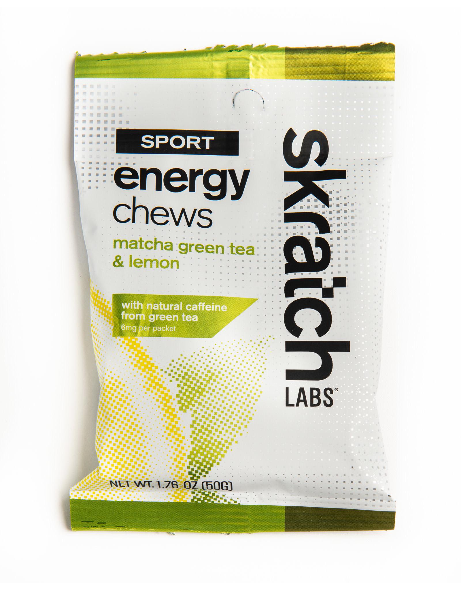 Skratch Labs Skratch Labs Chews Matcha Green Lemon, single