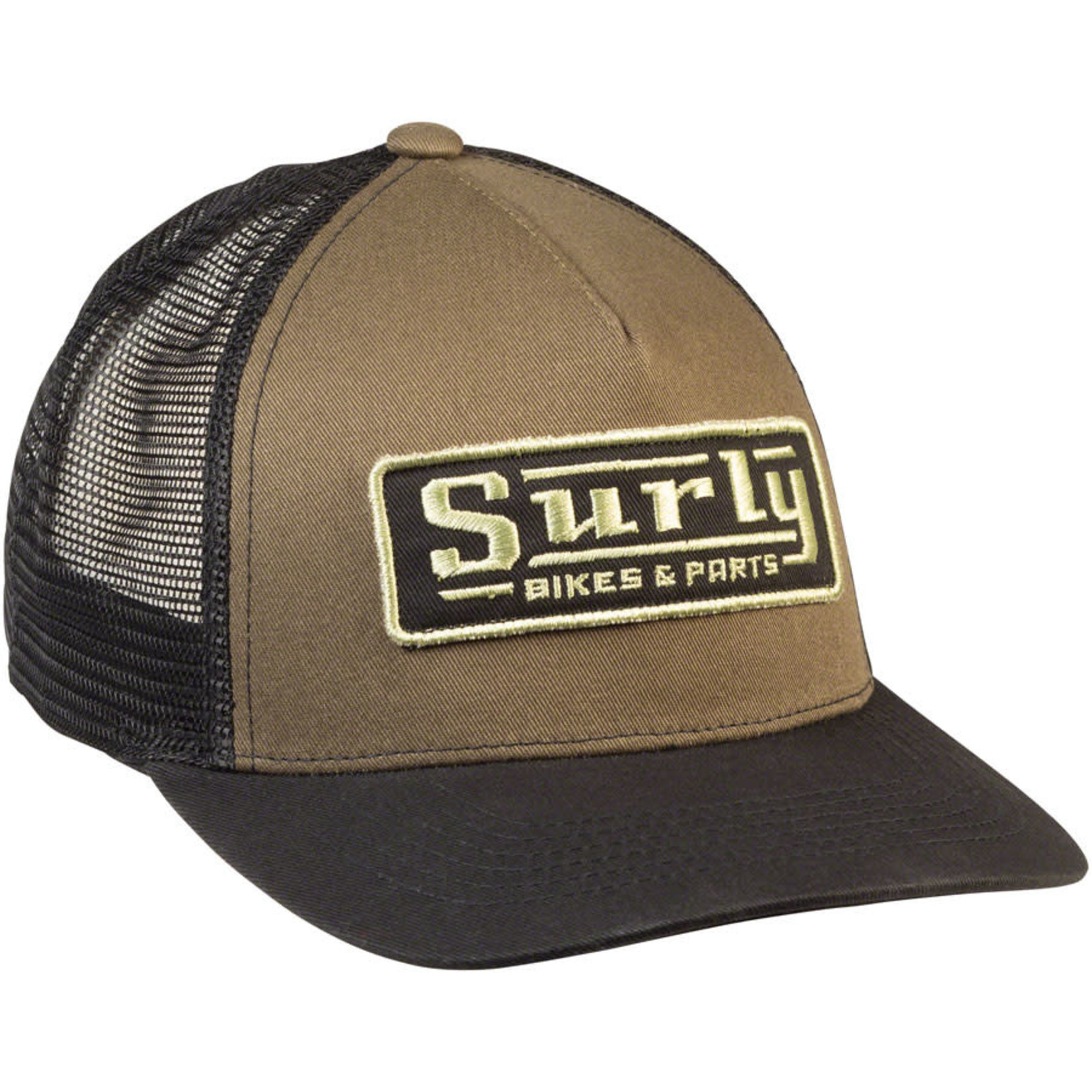 Surly Surly Assistant Executive Director Trucker Hat - Green , Black, One Size