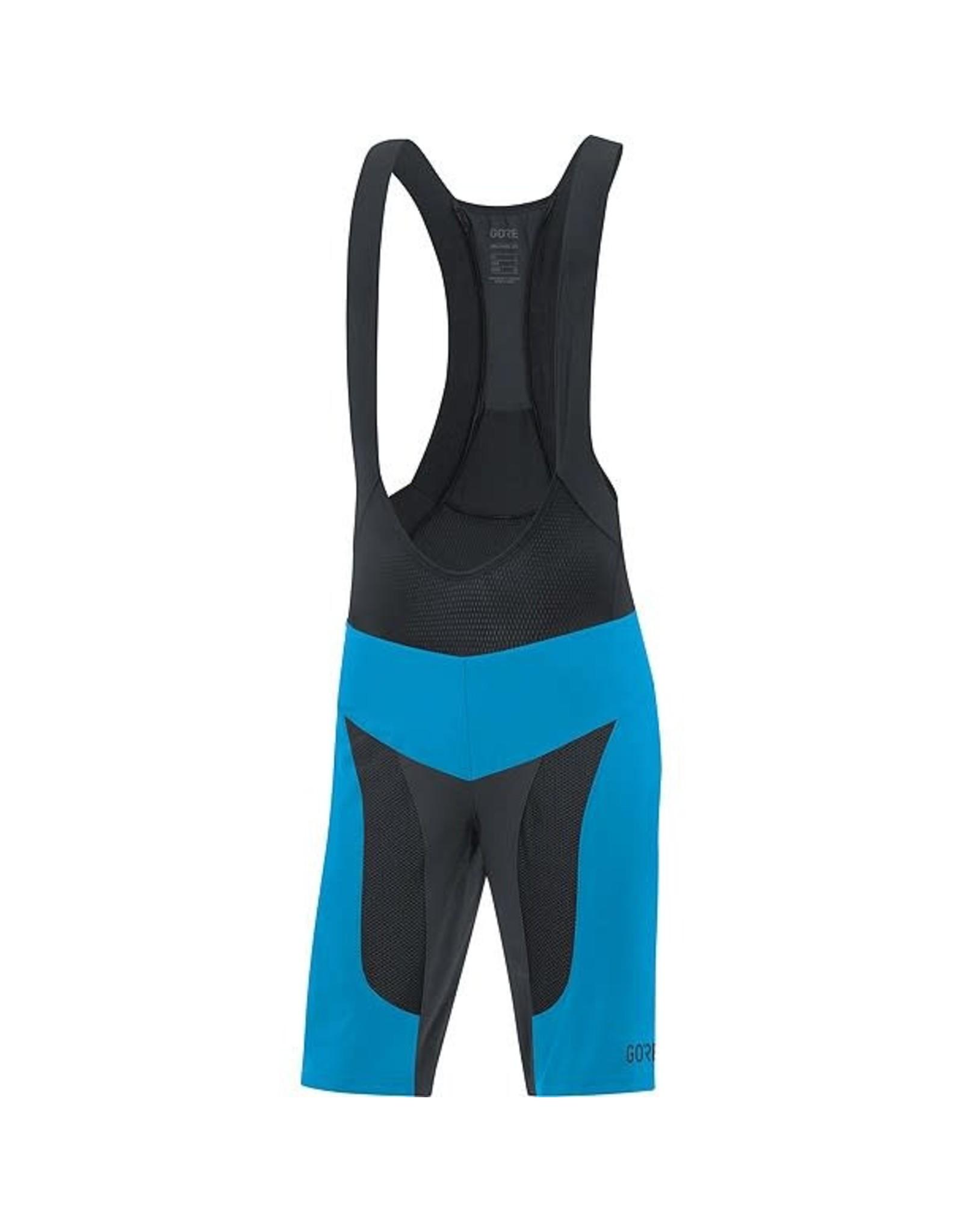 GORE Wear GORE C7 Pro 2in1 Bib Shorts+ cyan/black S