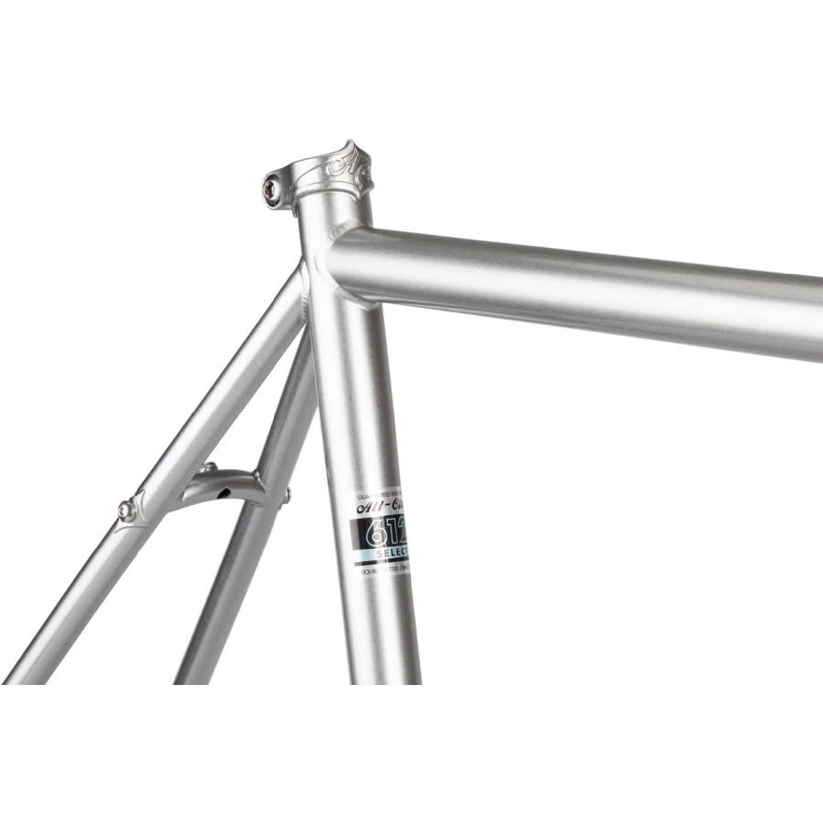 All-City All-City Super Professional Frameset - 700c / 650b, Steel, Quicksilver, 49cm