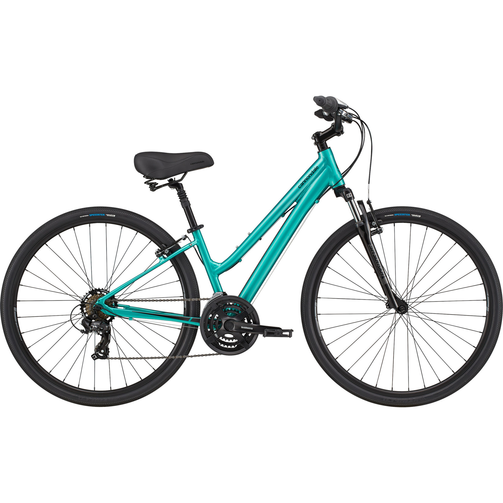 Cannondale 2021 Cannondale Adventure 2 Step-thru Turquoise Small
