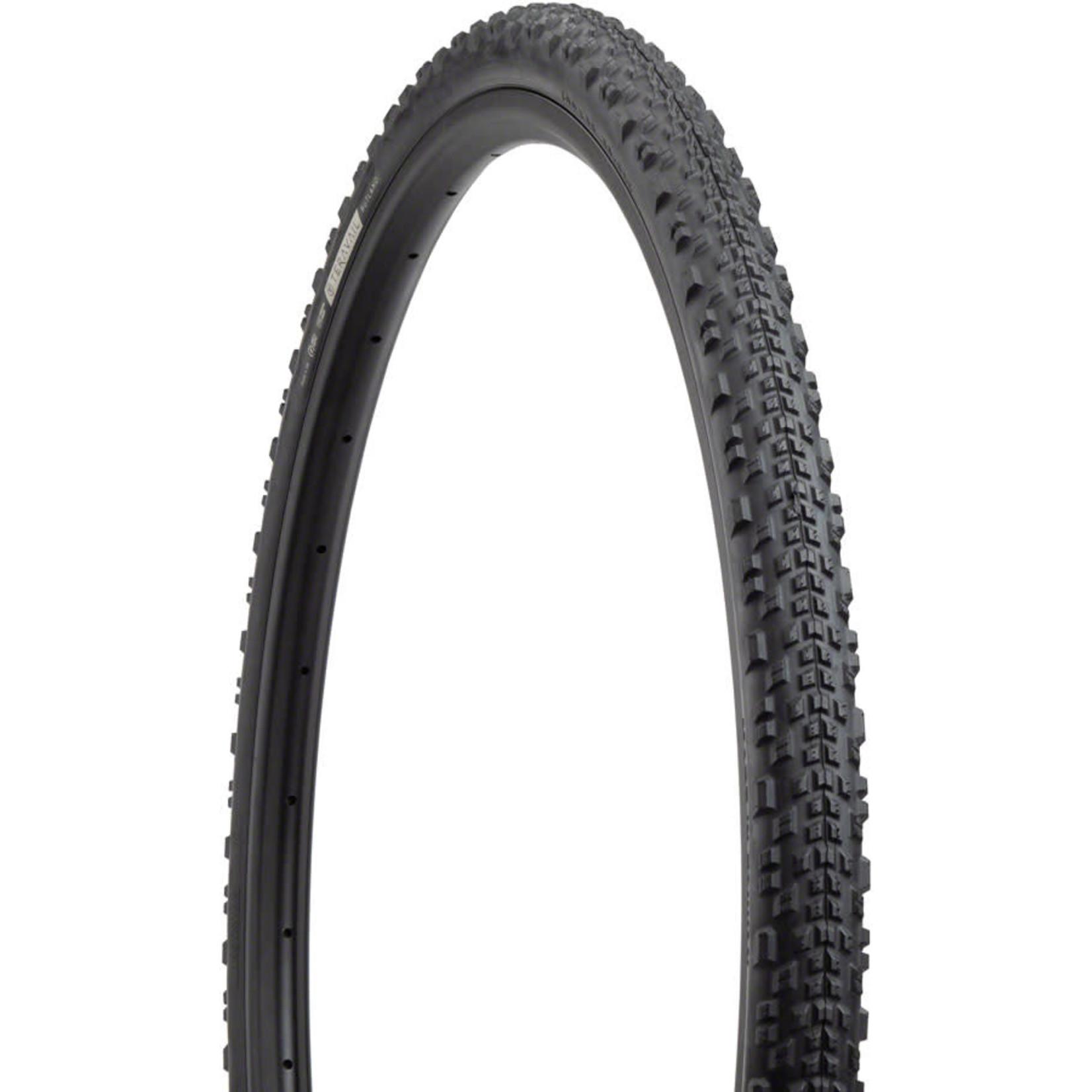 Teravail Rutland Tire - 700 x 38, Tubeless, Folding, Black, Light and Supple