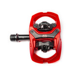 """iSSi iSSi Trail II Pedals - Dual Sided Clipless with Platform, Aluminum, 9/16"""", Lava"""