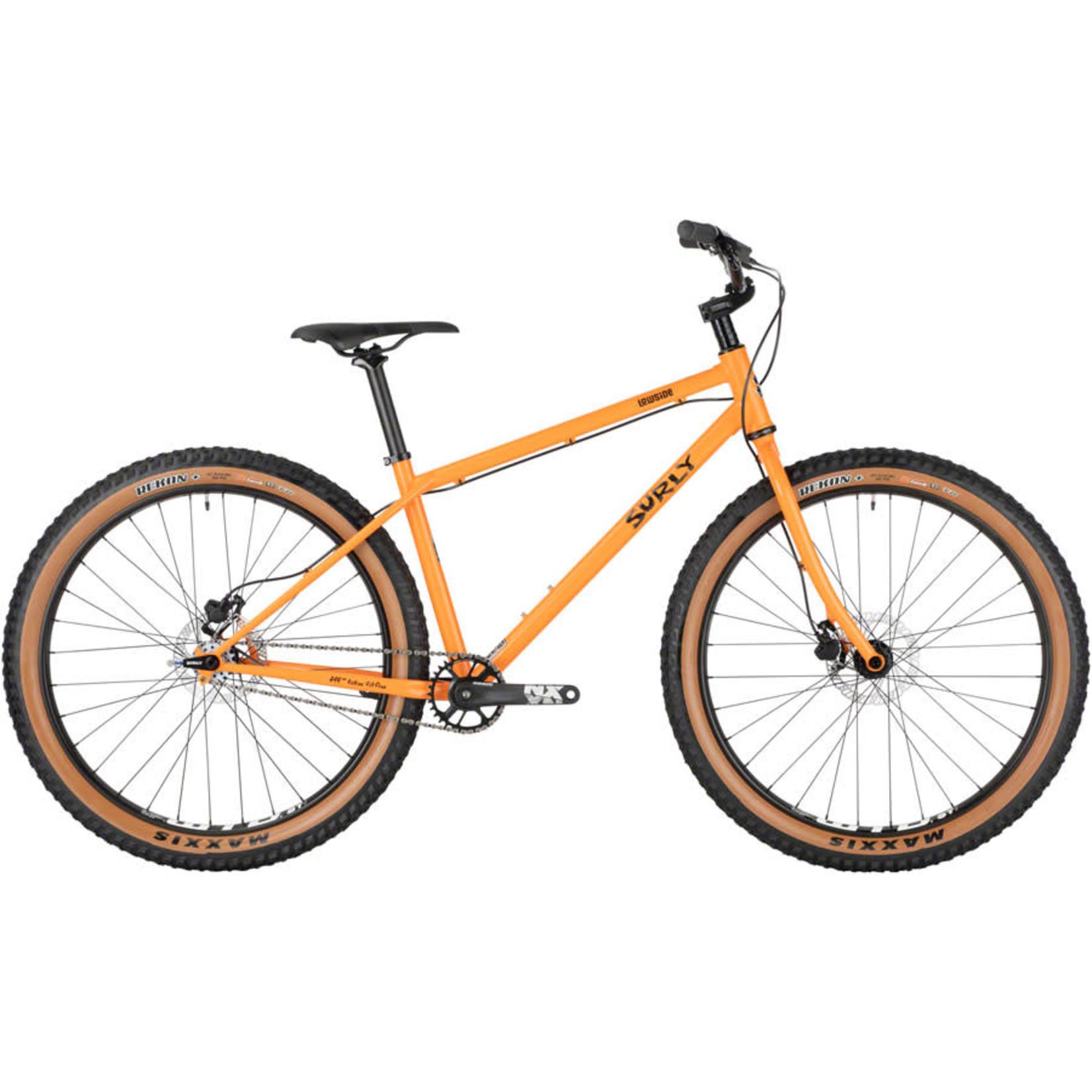"Surly Surly Lowside Bike - 27.5"", Steel, Dream Tangerine, Medium"